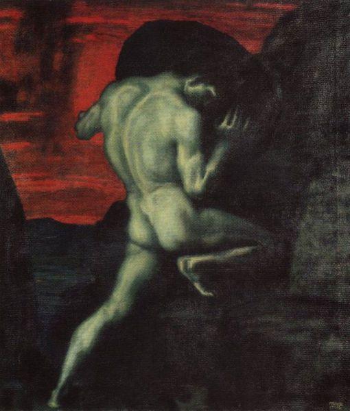 Sisyphus by von Stuck