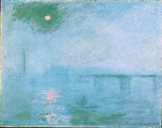 Fog On The Thames by Monet