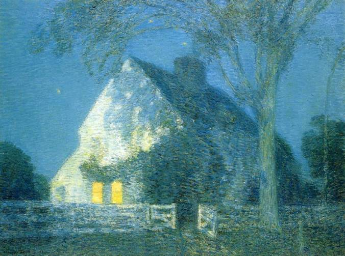 Moonlight by Chide Hassam
