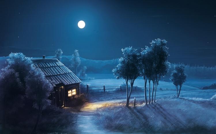 blue-night-full-moon-scenery-wide