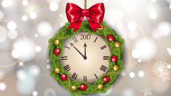 2016 Merry Christmas and Happy New Year background vector 6 (5)