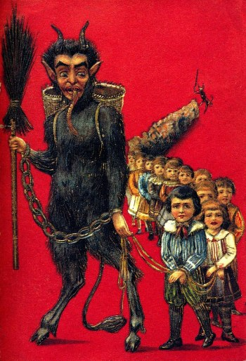 krampus-leading-children